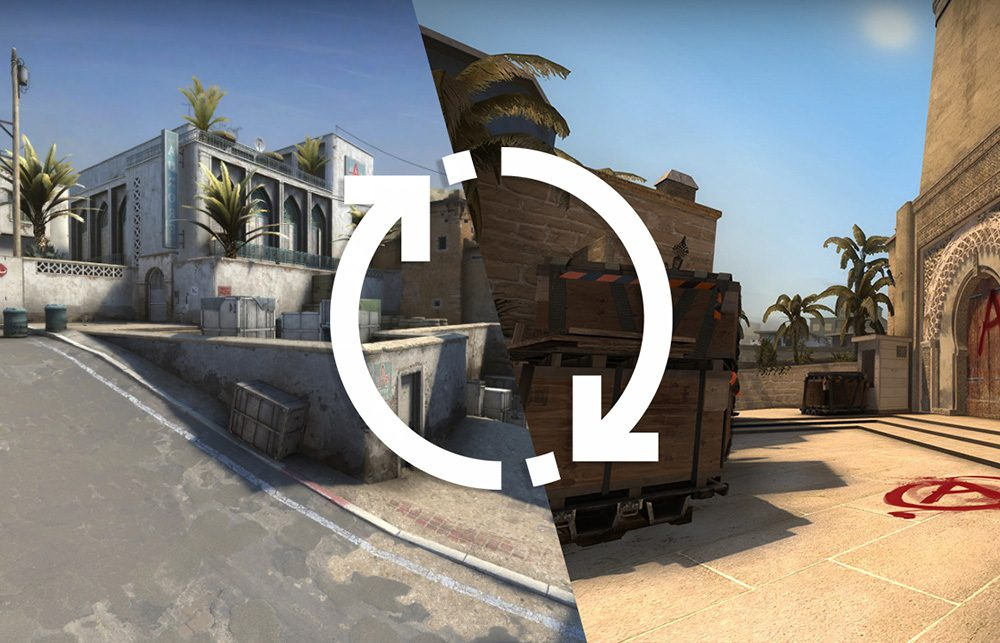 How to change the map in CS:GO through the console