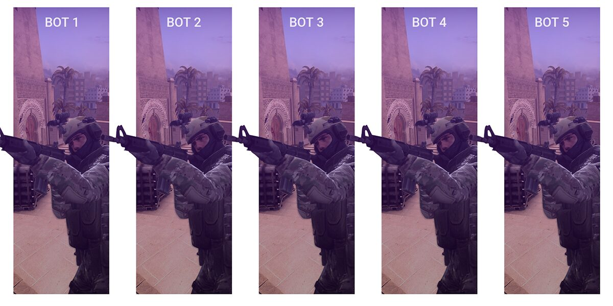 Console commands for configuring bots in CS: GO