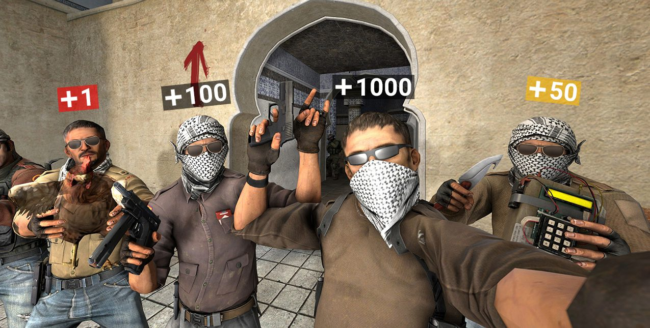 How to change hp for yourself or a bot in CS: GO