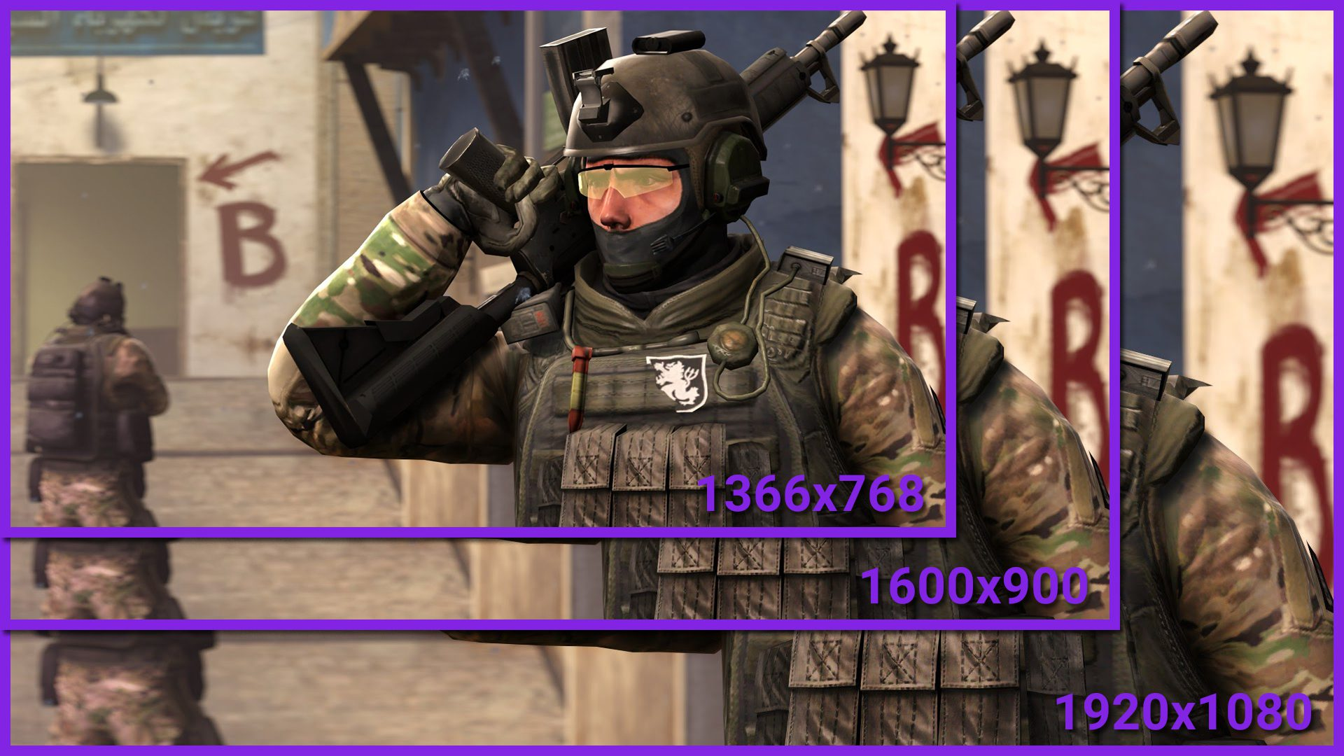 How to change resolution in CS: GO via launch options