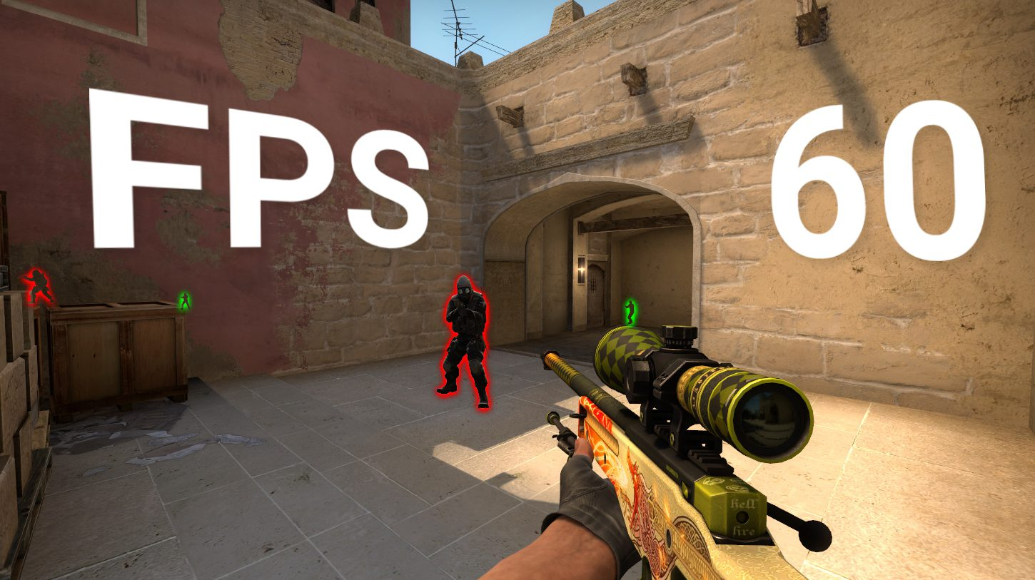 Console commands for setting up FPS in CS: GO