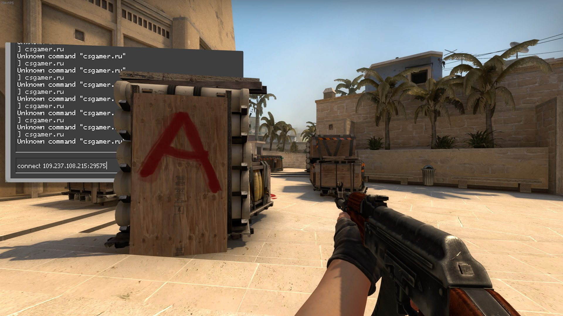 How to log into a server in CS: GO - Find a server by IP