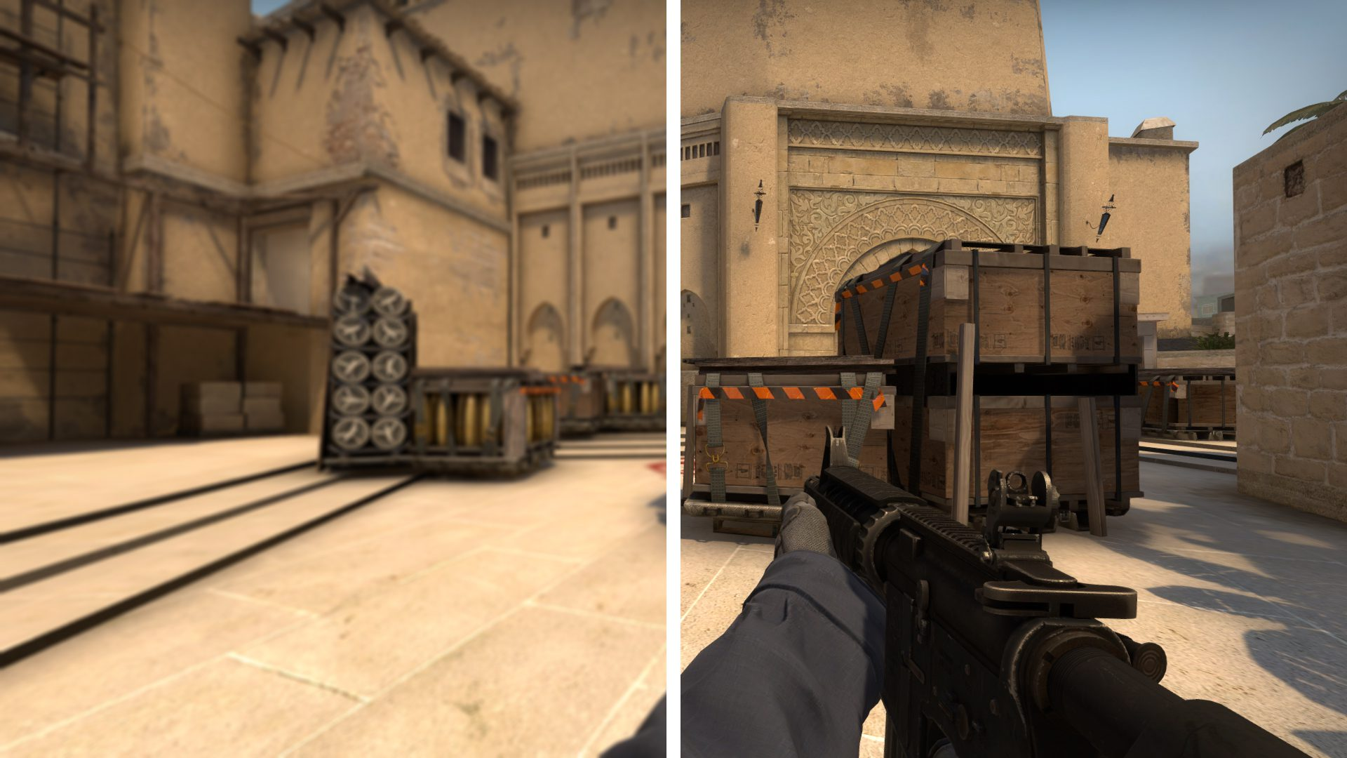 Console commands for customizing graphics in CS: GO