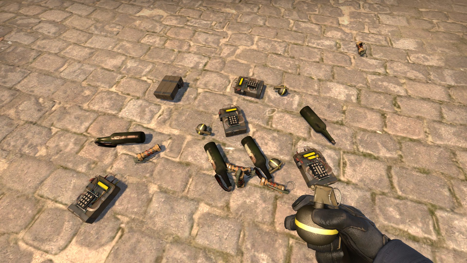 Console commands for issuing grenades in CS: GO