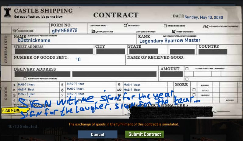 Profitable crafting from consumer goods in CS: GO - The best recipes