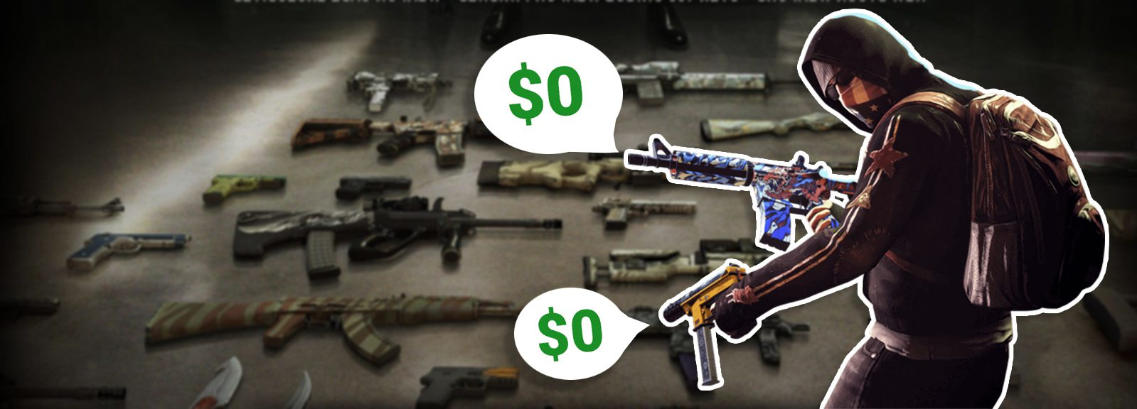 Free skins CS:GO - Sites with freebies and no deposit
